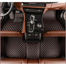 car floor mats for Volkswagen All Models CC Eos Golf Jetta Passat Tiguan Touareg car-styling car accessories Custom foot mats(China)