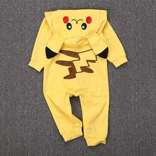 Pokemon Go Team Mystic Baby Rompers Pikachu Instinct Valor Ash Ketchum Toddler Infant Boy Girl Outfit Jumpsuit Cosplay Costume