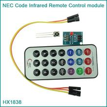 Free Shipping! HX1838 Infrared Remote Control Module IR Receiver Module DIY Kit HX1838 for Arduino Raspberry Pi