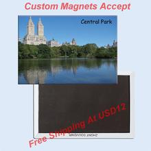 USA Travel Magnets Gifts NY Central Park Metal Photo Magnet 20002;Customized artworks accept(Hong Kong)