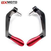 "7/8"" 22mm Motorbike proguard system brake clutch levers protect for Kawasaki Yamaha R3 R25 YZF R1 YZF R6 R10 T-MAX 500 TMAX 530(China)"