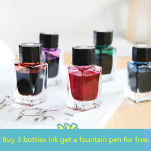 Foil Gold Color Ink For Fountain Pen Dip Pen Non-carbon Ink Writing Painting Graffiti Ink 18ml School Supplies Stationery Store