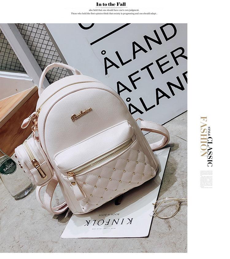 b33da9a6e446 2017 Summer New Vintage Retro Lady PU Leather Bag Small Women Mini Backpack  Mochila Feminina School Bags for Teenagers BolsaUSD 19.99 piece