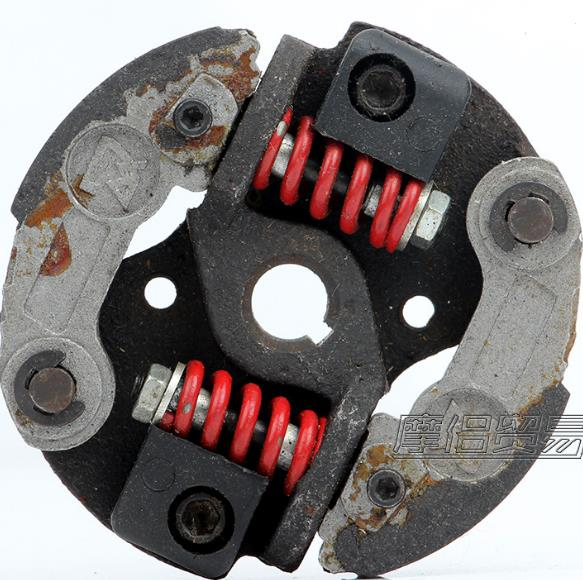 CLUTCH AY W/ 2 RED SPRINGS FOR MANY 43CC 47CC 49CC  2 STROKE ATV PACKET BIKE MINI DIRT SCOOTER PARTS<br>