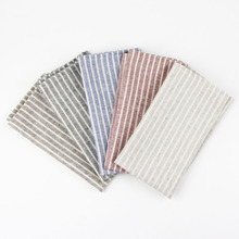 30 x 40 cm Fashion cloth Napkins cotton linen heat insulation mat dining table mat children table Napkin fabric placemats