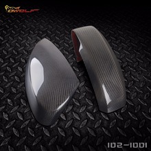 JDM Real Carbon Fiber Mirror Cover Case for Nissan Fairlady Z Z33 350Z 2003 to 2008 [1021001]