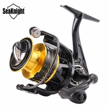 SeaKnight TREANT2000/3000/4000 Series Spinning Fishing Reel 10+1BB5.2:1 Carbon Fiber Drag System ATD-Cutted Aluminum Spool Wheel