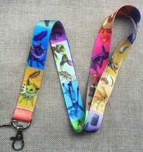 Lot 10Pcs Pikachu Pokemon Anime Mobile Cell Phone Lanyard Neck Straps Party Gifts S164(China)