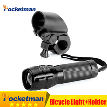 LED Bicycle Light 7 Watt 2000 LM 3 Mode CREE Q5 LED Bike Light lights Lampp Front flashlight Torch lamp + Torch Holder