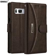 Cases for Samsung Galaxy Note 8 SMN950F Project Baikal Great Project Wallet Covers PU Leather Phone Bags Case 6.32 Inch Fundas(China)