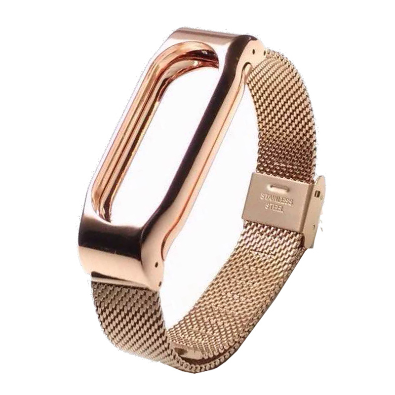 Stainless Steel Replacement Strap For Xiaomi Mi Band 2 Smart Accessories for mi band 2 Strap Smart Band Wrist belt for Miband 2 4
