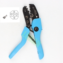 LS-03B AN-03B Open Barrel Terminal Crimping Tool for 0.5-6mm2 non-insulated barrel terminals Ratchet hand crimping tools DIE SET(China)