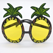 Novelty Sunglasses Beach Party Hen Night Stag Night Supplies Hawaiian Pineapple Sunglasses Fruit Glasses Dancing Supplies 9Z