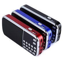 L-088 Portable Speaker Mini Portable FM Radio Stereo Speaker MP3 Music Player Double Loudspeaker with TF Card USB Disk Input