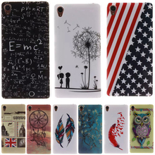 Buy Fashion Dandelion lovers Pattern Silicone Soft TPU IMD Cell Phone Back Cover Case Sony xperia Z3 L55u L55t D6603 D6643 D6653 for $1.50 in AliExpress store