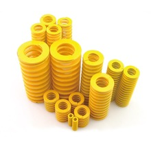 5pcs yellow mould die spring spring steel compression springs light load non-corrosive springs 8*4*30mm(China)