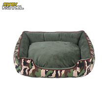CANDY KENNEL Camouflage Pet Dog Cat Bed Sofa Nest Soft PP Cotton Dog Warm Kennel Bed House Pet Mats Cushion Removable D1006