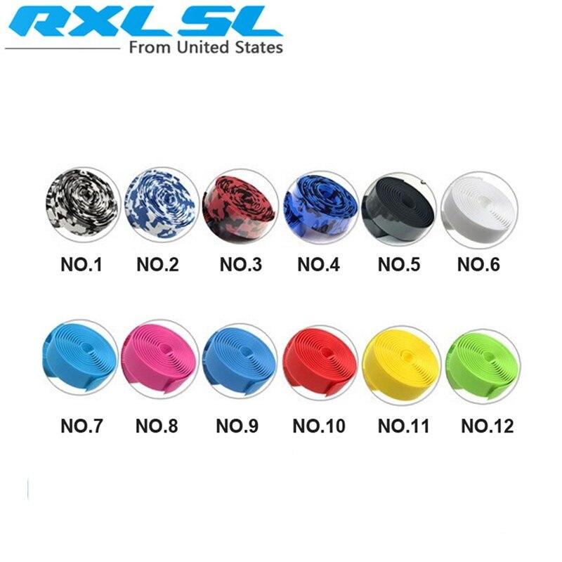 2Pcs Bicycle Handlebar Tape RXL SL 12 Colors Anti-...