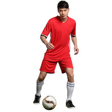 2017 Blank Soccer Set College Football Jerseys Custom Soccer Jerseys  Training Survetement Football Men`s  Uniforms