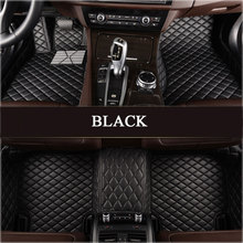 Custom fit special car floor mats for Land Rover Discovery 3/4 freelander 2 Range Rover Sport Evoque 3D car styling liner