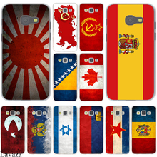Russian Spain flag  Pakistan Canada Israel Hard Case Cover for Galaxy A3 A5 J5 (2015/2016/2017) & J3 J5 Prime A7 J7
