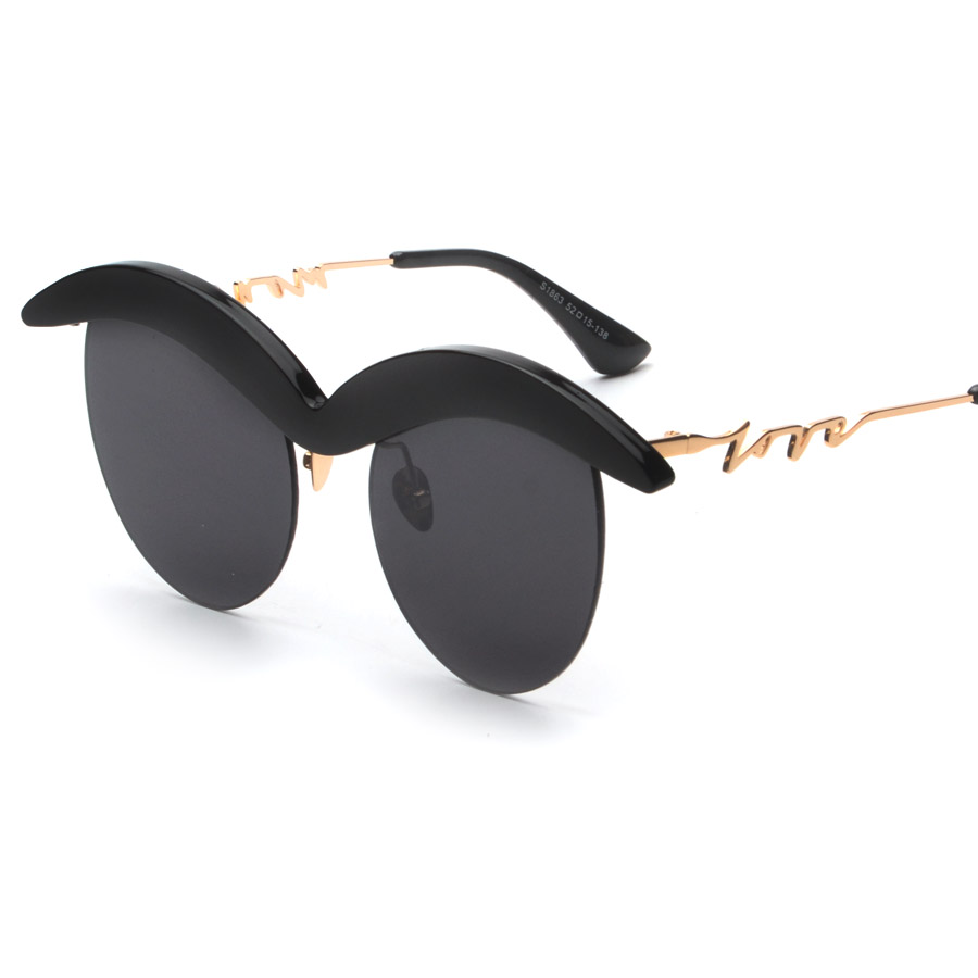 Rimless Novel Cute Round Glasses Eyewear 2016 New Vintage Retro Fashion Sunglasses Women Men Brand Designer UV400 oculos de sol<br><br>Aliexpress
