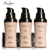 Brand Makeup Base Face Liquid Foundation BB Cream Concealer Whitening Moisturizer Oil-control Waterproof Maquiagem