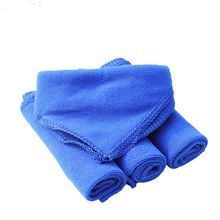 Hot Selling!Wholesale 28*28cm Soft Microfiber Cleaning Towel Car Auto Wash Dry Clean Polish Cloth(China)