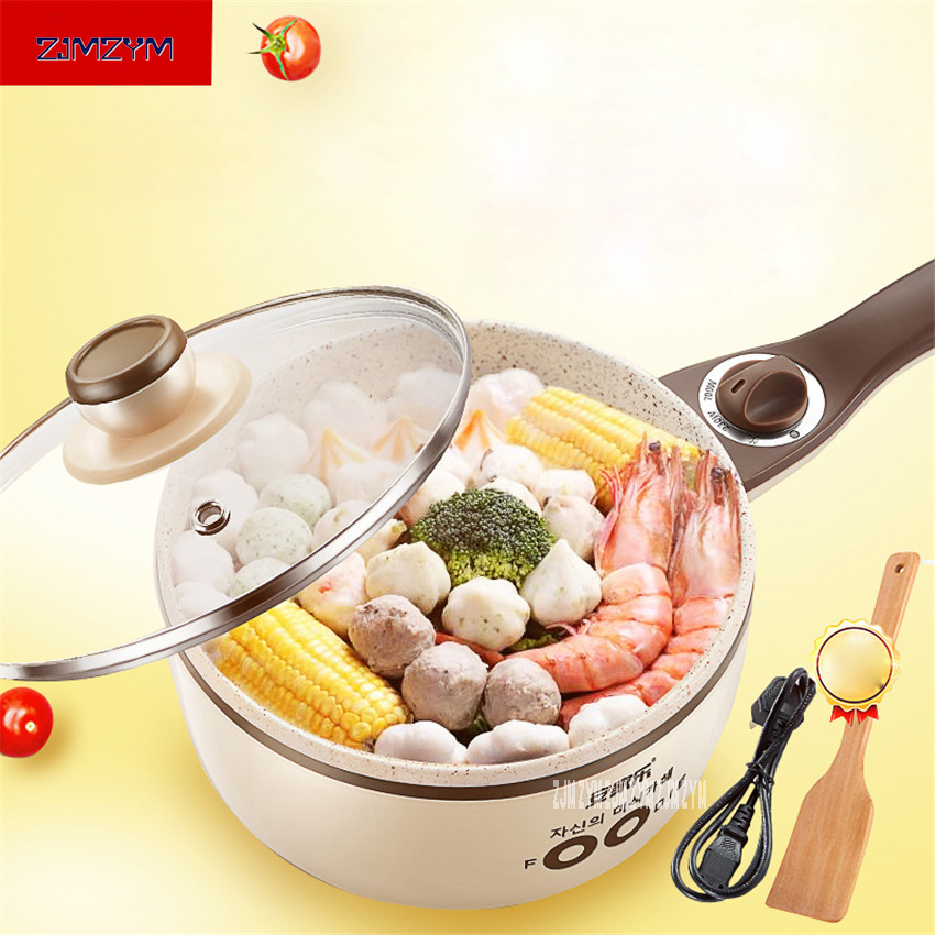 Mini Electric Food Steamers Pans Multifunctional Small Electric Hot Pots Heating Cup 1.5L for Steamer /Boiled /Cooking AJL-G158<br>