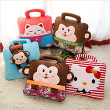 Cartoon Portable Air Conditioner Autumn Folded Blanket Office Pillow And Cushion Unique Gift BT020