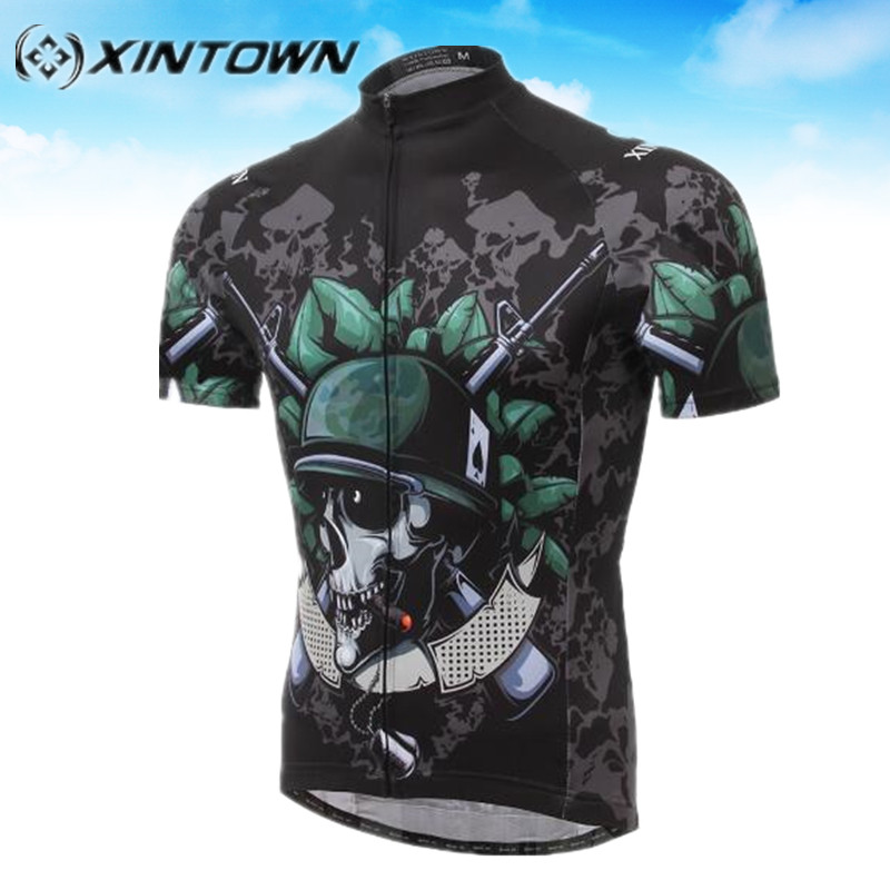 XINTOWN skull jersey pro Cycling MTB cheap clothes china Clothing Bicycle  Ropa De mallot ciclismo funny cycling jerseys Cloth 1ba59d2fd