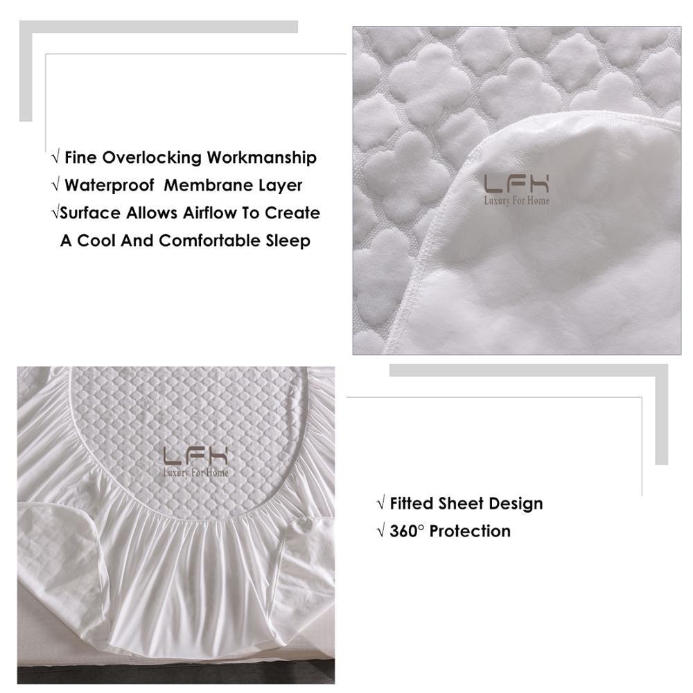 jacquard cloudy mattress pad cover (2)
