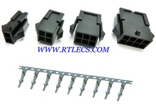 2pcs Micro-Fit 3.0 mm connector dual rows Receptacle Housing 2x1 2x2 2x3 2x4 Pin 2 4 6 8 10 12 14 16 18 20 22 24 P Terminal Male