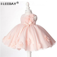 European Style Baby Dress Princess Vintage Christening Gown Girl Dress Tutu Lace Birthday Party Dress Baptism Infantile Vestido