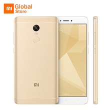 "Global Version Xiaomi Redmi Note 4 Snapdragon 625 Octa Core 3GB 32GB ROM Mobile Phone 5.5"" FHD 4100mAh CE B8 B20"