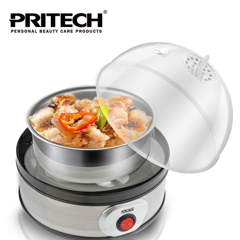 PRITECH Multi-function Electric Boil 7 Egg Boilers Cooker Steamer Kitchen Cooking Tool Egg Holder<br>