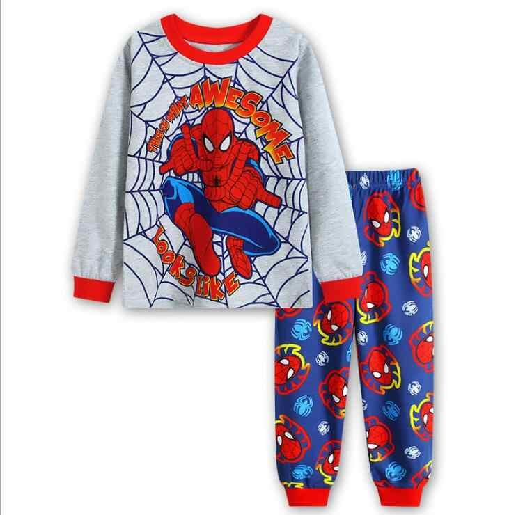 7Y hombre Araña dormir niños ropa superhéroe niño de de Hulk Pijamas Hombre 2 hierro fq1HzdZnfw