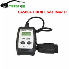 2017 New Arrive Vgate CAS804 CAN OBDII Code Reader  CAS 804 Auto Car Scanner Tool Work On Multi Brand Cars Read DTCs Easy To Use