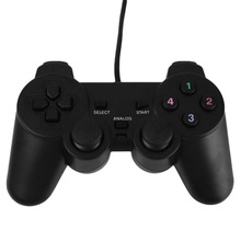 Cewaal New Wired USB Gamepad Game Gaming Controller Joypad Joystick Control For PC Computer Laptop Gamer Black
