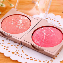 1 Pcs nude make up Blush makeup Rouge cosmetics Tools Concealer Lasting new face blusher women cheek color rouge high quality(China)