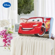 Red Cartoon McQueen Cars Print Memory Pillows 50x30cm Slow Rebound Waving Foam Neck Cervical Travel Healthcare Boys Kids Bedding