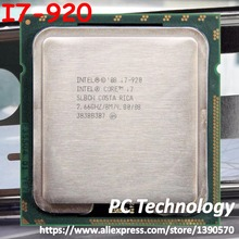 Processor CPU LGA1366 4-Cores I7-920 Intel Cache Ship-Out Within 8M 1-Day SLBCH/SLBEJ