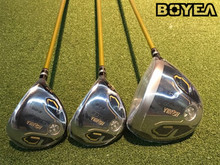 Boyea 3 Star Honma S-05 Wood Set Golf Woods Golf Clubs Driver +Fairway Woods R/S/SR Flex Graphite Shaft With Head Cover