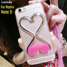 Buy Liquid Quicksand Glitter Case Xiaomi Redmi Note 5 Cover TPU Case Redmi Note 5 Cover Dynamic Bling Sexy lips Soft Coque for $2.91 in AliExpress store