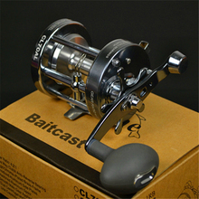 CL70 full metal drum fishing reel 3 bearing trolling wheel fishing vessel boat reel bait casting fishing reel fishing tackle
