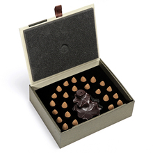 Gift Box Packed Backflow Incense Cones + Burner Set 23Pcs Natural Reflux Indian Incense + Ceramic Censer Colored Smoke(China)