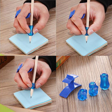 4 Pcs/lot New Design Best Gift Children Pencil Students Hold A Penwriting Posture Correction Tools New Arrival Stationery Pencil