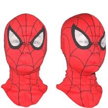 Funny Spiderman Mask Cosplay Hood Party Masks Creative Full Head Halloween Masks For Kids And Adults