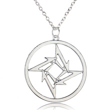 2016 New Fashion Rock Band Metallica Metal Music Pendant Necklace men women jewelry big Silver vintage choker accessories gift