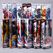 Anime Figure 30 CM Hero Avengers Superheroes Captain Venom Iron Man Thor Darth Vader Green Goblin PVC Action Figures Toys